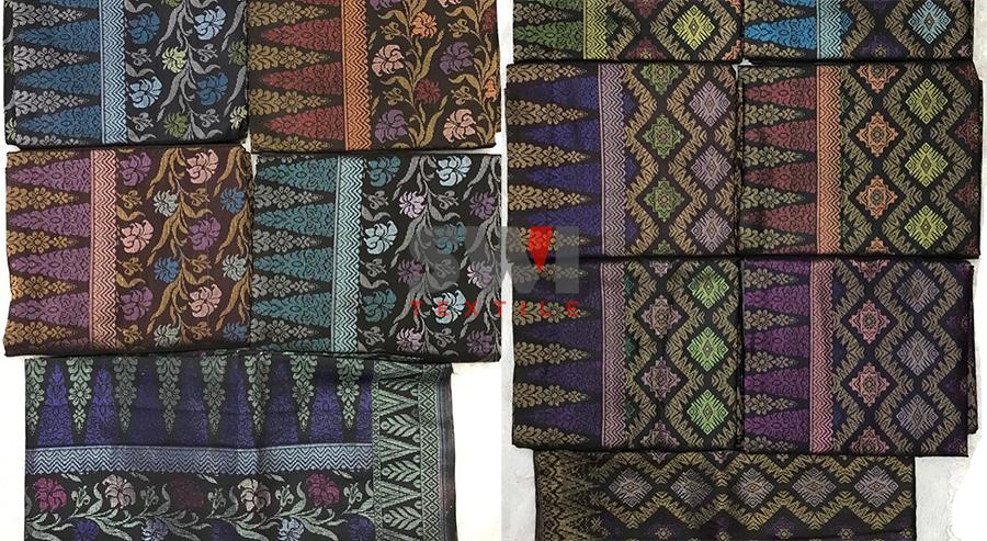 Pembekal & Pemborong Kain Samping Songket Lelaki